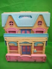 Vintage Fisher Price Loving Family Dolls Play House/Mansion