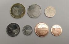More details for set of 7 gibraltar coins 1p, 2p, 5p, 10p, 20p, 50p & 2 pound 2020 - pre order -