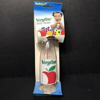 Safety 1st Veryfine Apple Juice Vtg Baby Bottle 1993