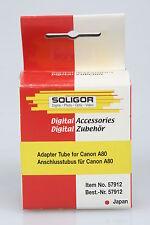 Soligor anschlusstubus/tubo de adaptador para Canon a80 b52mm OVP