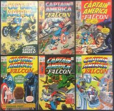 Captain America Comics (Lot of 6) Vintage 1970-71