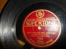 Later 20s SUPERTONE 78/Newport Society Orch./Arthur Fields-Vocals