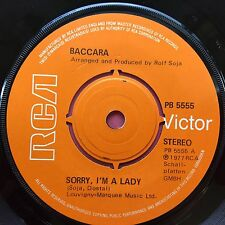 Baccara - Sorry I'm A Lady / Love You Till I Die - RCA PB-5555 VG+ Condition