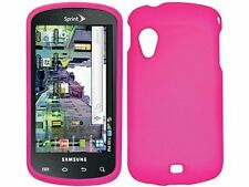 PINK RUBBERIZED HARD CASE COVER FOR VERIZON SAMSUNG STRATOSPHERE i405 PHONE NEW