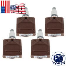 4x 13348393 433MHz TPMS Tire Pressure Sensor For Chevrolet Volt Saab 9-3 9-5 9-3