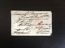 1st EARL OF EFFINGHAM - ARMY OFFICER SERVED IN MANY CONFLICTS - SIGNED ENVELOPE