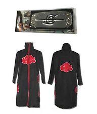 Halloween Naruto Itachi Uchiha Deluxe Cosplay Costume Black SIZE M