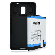 TQTHL For Samsung Galaxy Note 4 11800mah Super Extended Battery+Black TPU Case