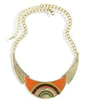 Women Bohemia Retro Collar Choker Bib Charm Chain Pendant Necklace Gifts Jewelry