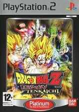 Sony PlayStation 2 Ps2 Game Dragonball Z Budokai Tenkaichi