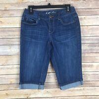 INC Denim Womens Shorts Cotton Stretch Denim Regular Fit Jean Bermuda Skinny 6P