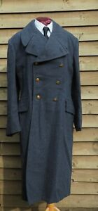 """Royal Air Force - Other Ranks Greatcoat - 1965 - British RAF - 41"""" Chest"""