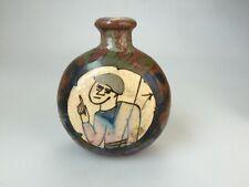 Ancienne tabatière poterie de Bayeux  Snuff Box - 9