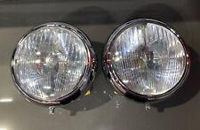 Original Horch Headlights