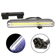 2Pcs Car LED COB Daytime Running Light Long Strip DRL Motor Fog Day Driving Lamp