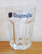 Hoegaarden Belgian Lager Beer Heavyweight 25cl Glass CE Stamped Pub Bar Used