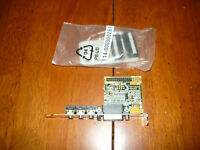 Vintage Asus UA-EXT Rev 1.01 Audio Gameport Bracket Card for AT Boards Open Box