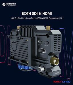 HOLLYLAND Mars 400s PRO 400ft Wireless HDMI SDI Video Image Receiver 1080P HD