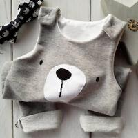 Newborn Kids Baby Boy Girl Infant Romper Jumpsuit Bodysuit Clothes Outfits 0-24M