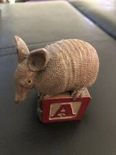 Tim Wolfe Collectible Aardvark Animal Alphabet Block A Cairn Studio