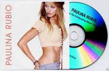 PAULINA RUBIO Border Girl Sampler 2002 UK 4-track promo test CD