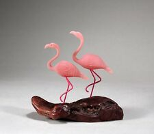 FLAMINGO Duo Sculpture New direct from JOHN PERRY 7in tall Statue Figurine Decor