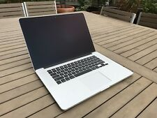 "2015 Apple MacBook Pro 15"" Retina i7 2.8Ghz 16GB 512g ssd Radeon M370X applecare"