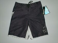 surftrunks shorts rusty 30  black stripes burning - new surf trunks board shorts