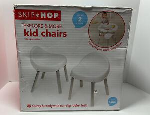 SKIP HOP Explore & More Kids Chairs, White Kid Chairs Infants DMG BOX