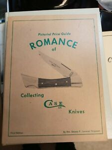 ROMANCE OF COLLECTING CASE KNIVES PRICE GUIDE Collector Pocketknives Knife Book