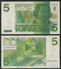 OLANDA / NETHERLANDS - 5 Gulden  28.3.1973 Pick 95a XF