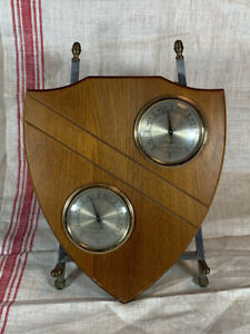 Vintage Mid-Century AIRGUIDE Barometer / Thermometer