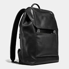 COACH BOUTIQUE MANHATTAN BACKPACK IN LEATHER STYLE NO. 71989 RETAIL $595 BLACK