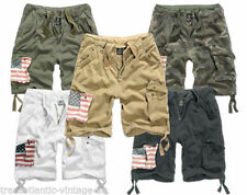 Patternless Cargo, Combat Loose Fit Shorts for Men