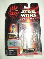 Action Figure Star Wars Episode 1 Phantom Menace Ody Mandrell & Pit Droid 4 inch