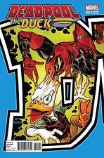 Deadpool the Duck #1 Dave Johnson Connecting Variant Marvel Comic Book Howard
