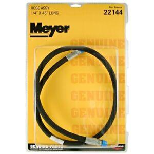 "NEW Genuine Meyer 22144 Older Classic Style Plow 1/4"" MNPT X 45"" Angle Ram Hose"