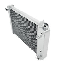 1978-1980 Chevy Monza Radiator,Champion Polished Aluminum 3 Row Radiator, #469