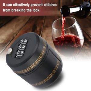 Bottle Lock Password Lock Combination Lock Code Lock for ID 28cm Wine Bottle