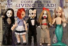 Living Dead Dolls series 30 set~Freakshow~Mezco~Horro r~Gothic~Nib