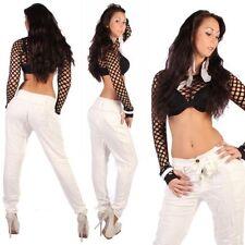 Markenlose Normalgröße Damen-Jeans mit mittlerer Bundhöhe