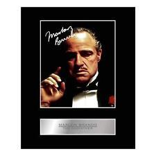 Firmado exhibición montado Foto Marlon Brando el padrino