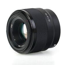 Sony FE 50mm f/1.8 Prime Lens for Sony E Mount Black
