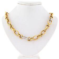 Diamond Chain Yellow Gold 18k Fine Necklaces & Pendants