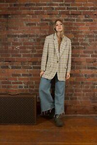 Isabel Marant Etoile Korix Wool Boucle Blazer Size 38