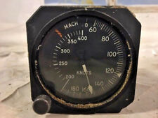 Aircraft Airspeed and Mach Indicator Gauge. P/N: A3946910035. Ex MOD