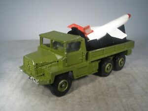 Dinky Toys Military FRENCH DINKY BERLIET GAZELLE MISSILE TRUCK #620