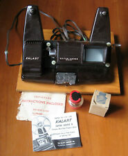 Vintage Movie Kalart Editor Viewer 8 Craig Film Cement & Instructions Made USA