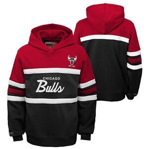 Mitchell & Ness NBA Youth Boys (8-20) Chicago Bulls Head Coach Hoodie