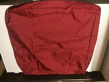 Outdoor Red 26x30x4 inch Cushion Covers